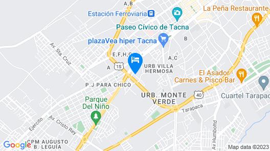 Hostal Vasco Map