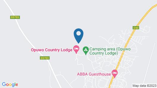 Opuwo Country Loge Map
