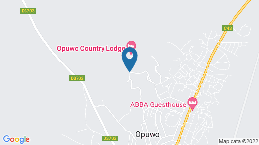 Opuwo Country Hotel Map