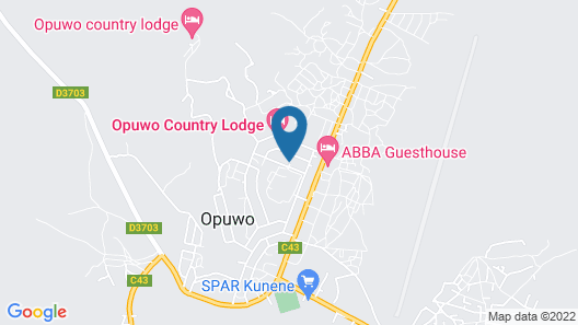 P Wake Guesthouse Map
