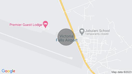 Victoria Falls Haven Map