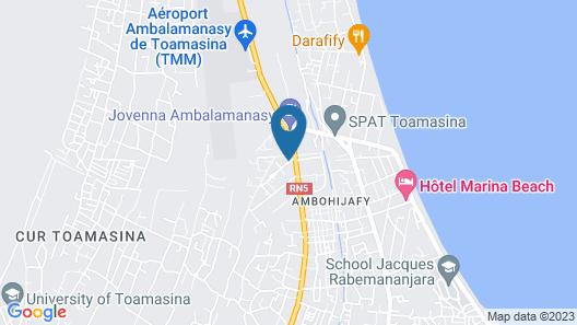 L Apart Hotel de la Plaisance Map