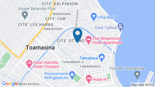 Ste Chylifa Tamatave Apartment Near French High School Map