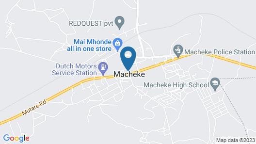Macheke Lodges & Conference Centre Map