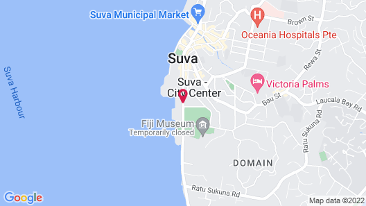 Holiday Inn Suva Map