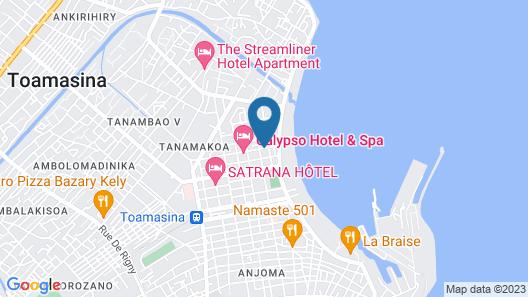 Hotel Calypso Map