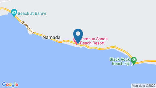 Tambua Sands Beach Resort Map