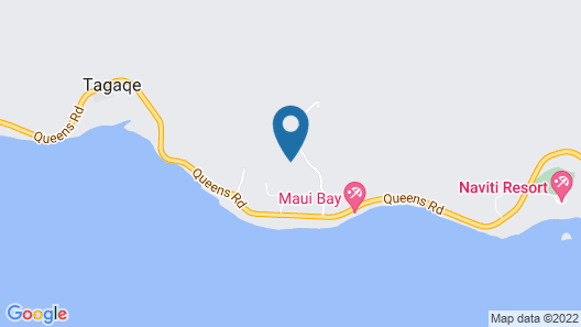 Private Holiday House Fiji Map