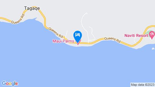 Maui Palms Map