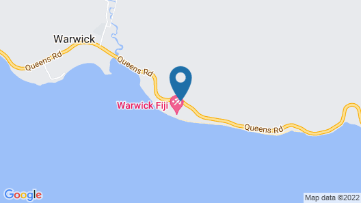 Warwick Fiji Map