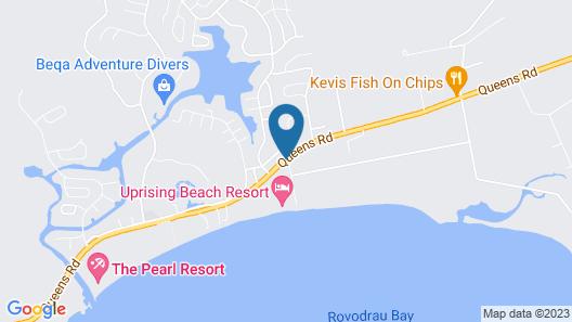 Uprising Beach Resort Map