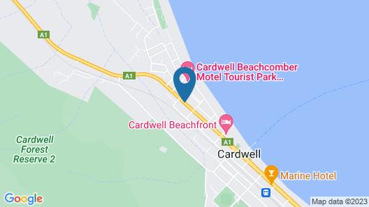 Cardwell at the Beach (Lyndock Motel) Map
