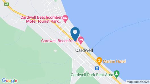 Kookaburra Holiday Park Cardwell Map