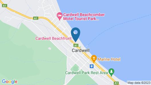 Cardwell Beachfront Motel Map