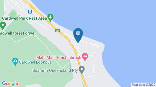 Hinchinbrook Holiday Apartments Map