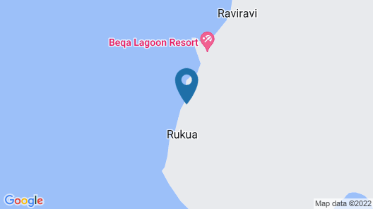 Beqa Lagoon Resort Map
