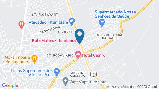 Rota Hotel Map