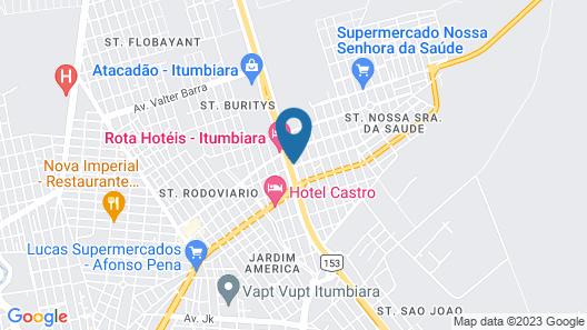 Órion Hotel Map