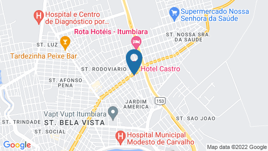 Hotel Antonialli Map