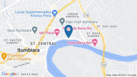 Pousada Beira Rio Map
