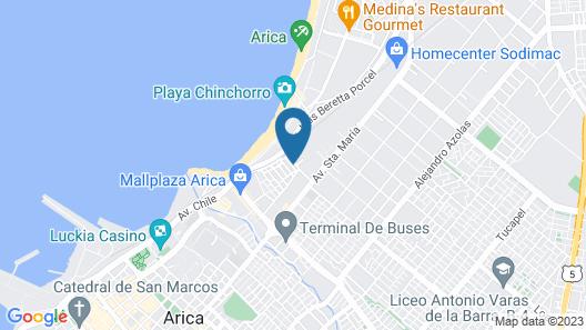 Hotel Andalucía Map