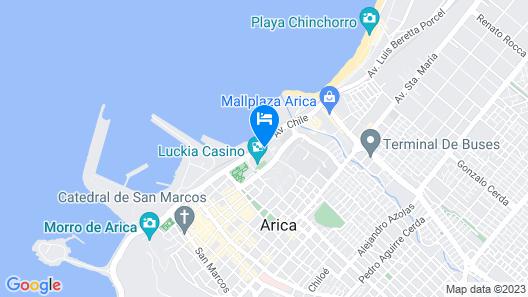 Antay Hotel & Spa Map
