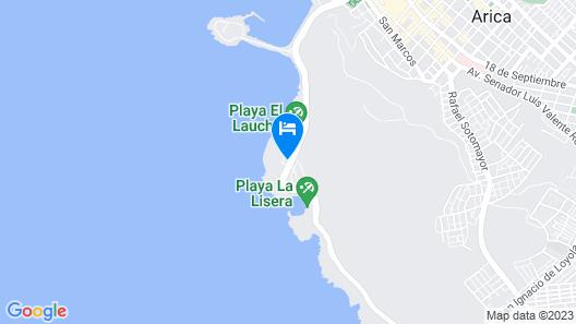 Panamericana Hotel - Arica Map