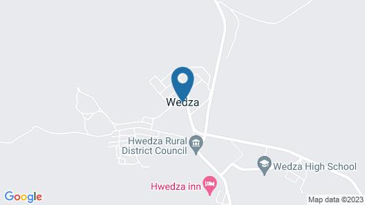 Hwedza sunshine inn Map