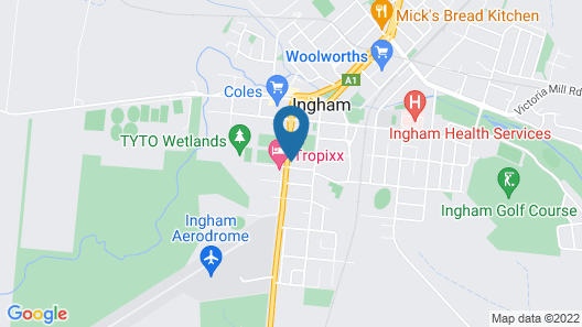 Motel Ingham Map