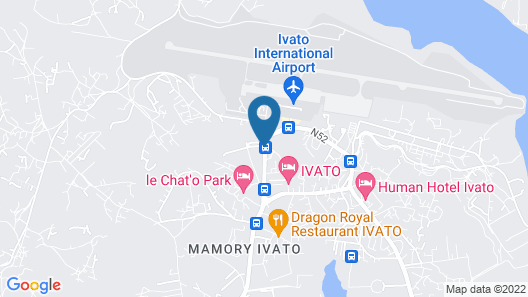 Fly Inn Madagascar Hotel  Map