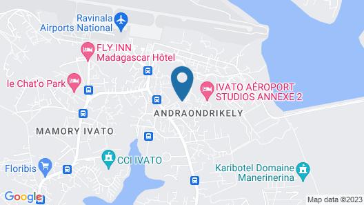 B&B Antananarivo Map