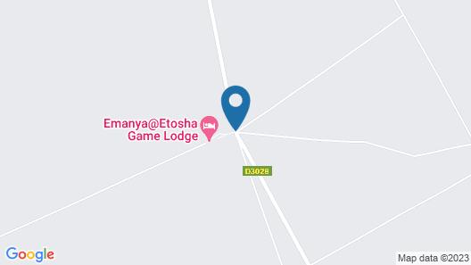 Emanya@Etosha Game Lodge Map