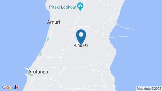 Aitutaki Ootu Villa Map