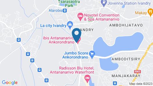 ibis Antananarivo Ankorondrano Map