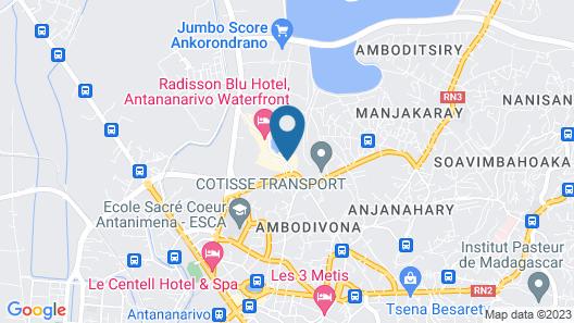 Hôtel Tamboho Map