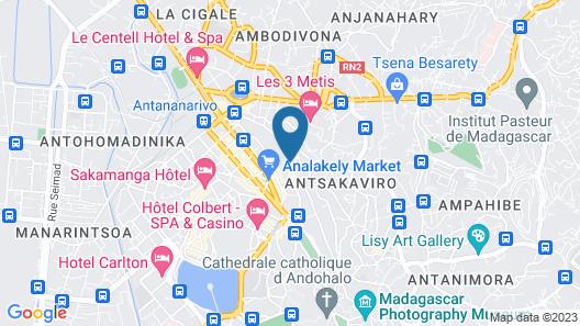 Hotel Brajas Map