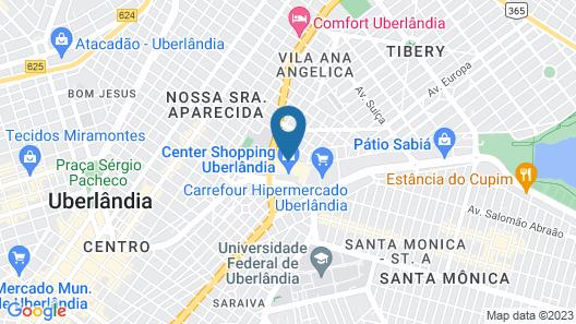 Mercure Uberlândia Plaza Shopping Map
