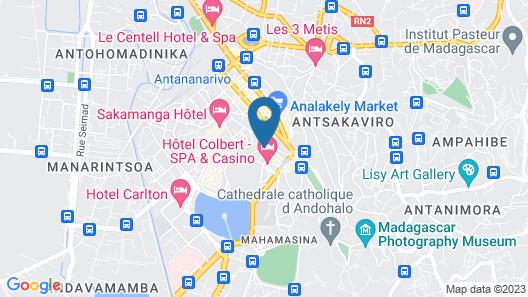 Le Louvre Hôtel & Spa Map