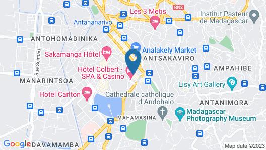 Hôtel Colbert Spa & Casino Map