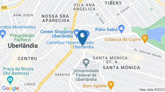 ibis budget Uberlandia (Opening November 2018) Map