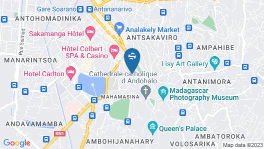 Grand Hôtel Urban Map