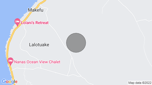 Nanas Ocean View Chalet Map