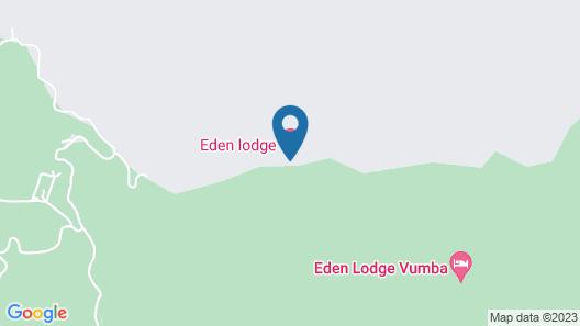 Eden Lodge Vumba Map