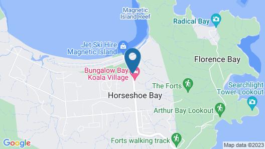 Bungalow Bay Koala Village - Hostel Map