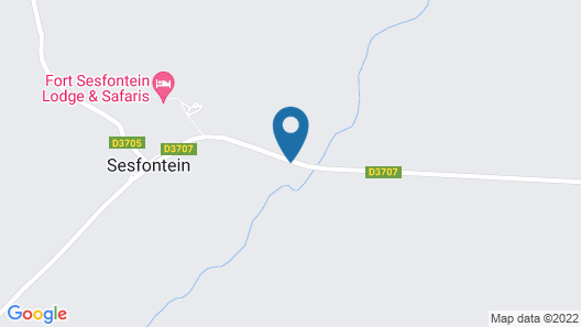 Sesfontein Guesthouse Map