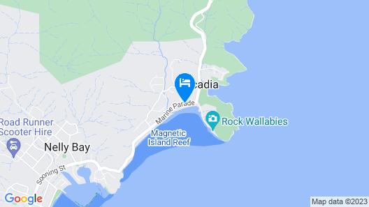 Arcadia Village Motel Map