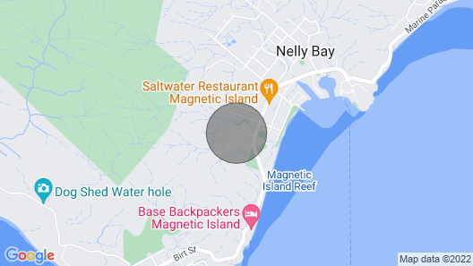 Whispering Palms - Nelly Bay, QLD Map