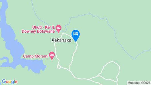 Xakanaka Mobile Camp Map
