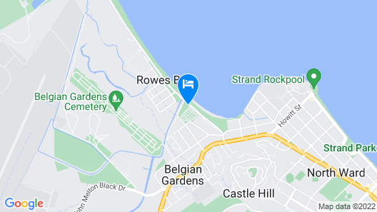 BIG4 Rowes Bay Beachfront Holiday Park Map
