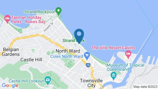 Aquarius on the Beach Map